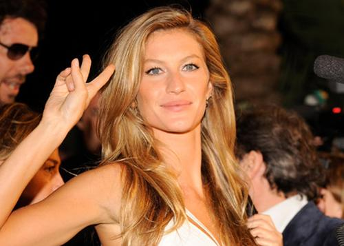 Gisele Bundchen internationally top-gaining model