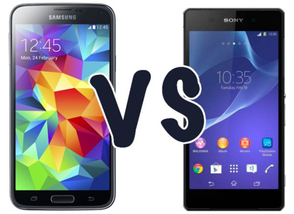 Galaxy S6 VS Xperia Z3: Comparison