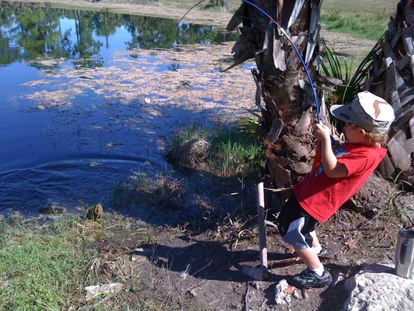 Angling Trek Shows Kids The Great Life