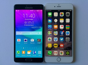 Comparing Samsung Galaxy Note 5 &Amp; iPhone 6 Plus