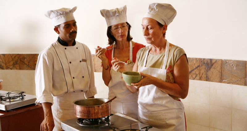 Learn To Cook In India