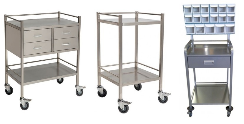 Buying Surgical Trolley Stainless Steel In Medical Line