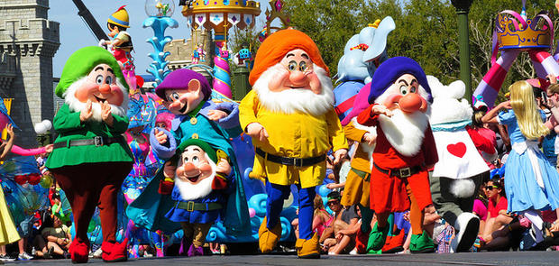 Dress Up Like Cartoon Characters Give More Enthusiasm