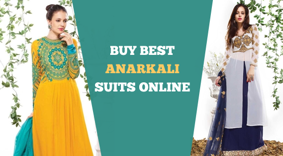 Types Of Anarkali Suits