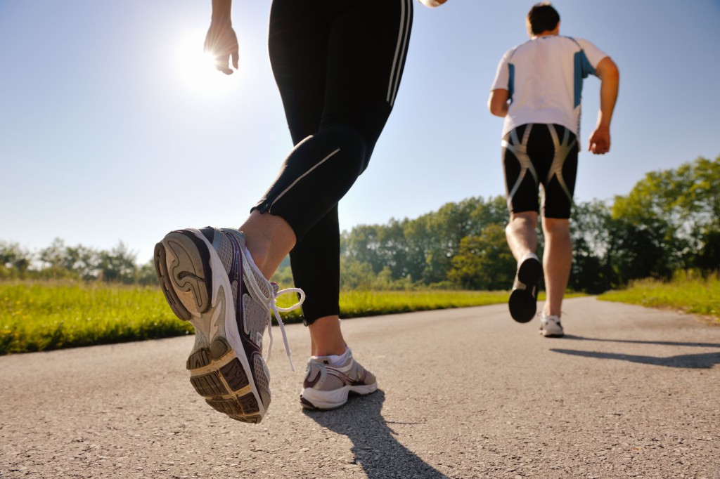 Get Skinny Legs Through Jogging