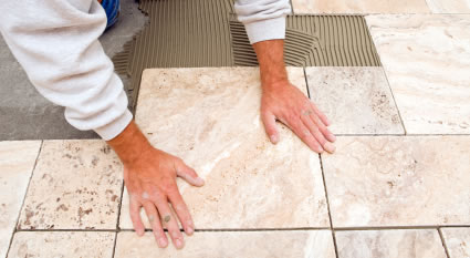 Work Of A Ceramic Tiler Contractor