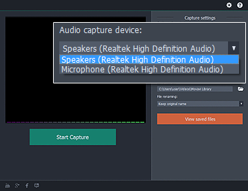 How To Record Audio Streams On A PC With Movavi Screen Capture Studio