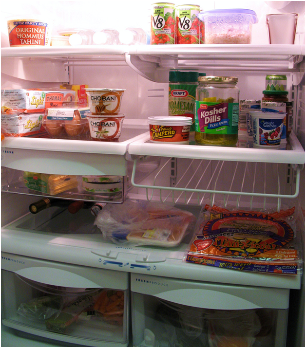 Safely Storing Food In A Fridge